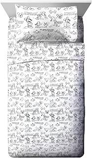 Jay Franco Disney Mickey Mouse Sketch Full Sheet Set