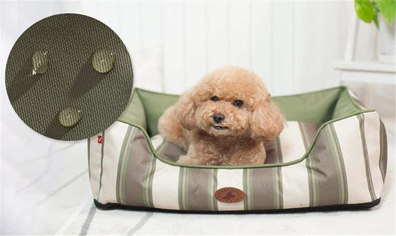 KIUJHY Dog Bed Pet Supplies and Washable FlipType Design Four