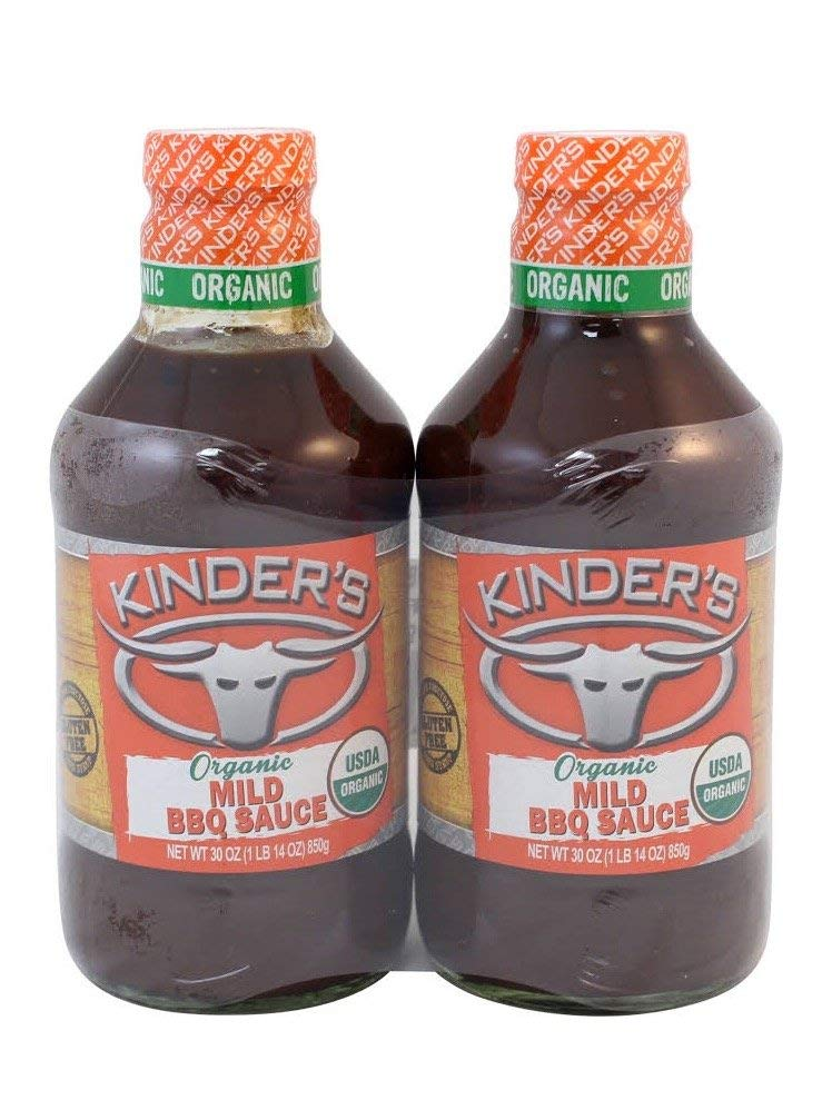 Kinder's Organic Mild BBQ Factory outlet Sauce Pack Challenge the lowest price 2 oz 30 of
