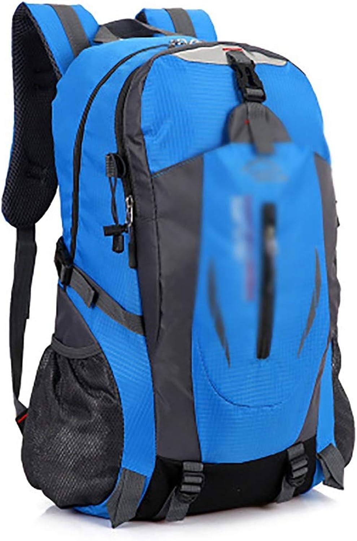 MXRa Wanderruckscke Outdoor-Rucksack, Reisen, Wandern Camping Rucksack Pack, groe lssige Daypack, College School Rucksack (Farbe   Blau)
