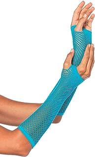 Women's Triangle Net Fingerless Gloves