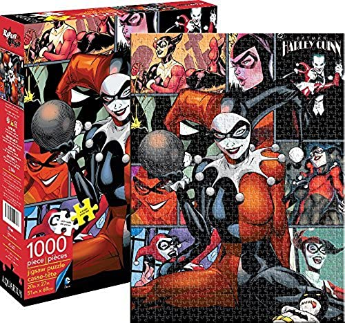 Aquarius DC Harley Quinn Puzzle (1000 Piece) by Aquarius
