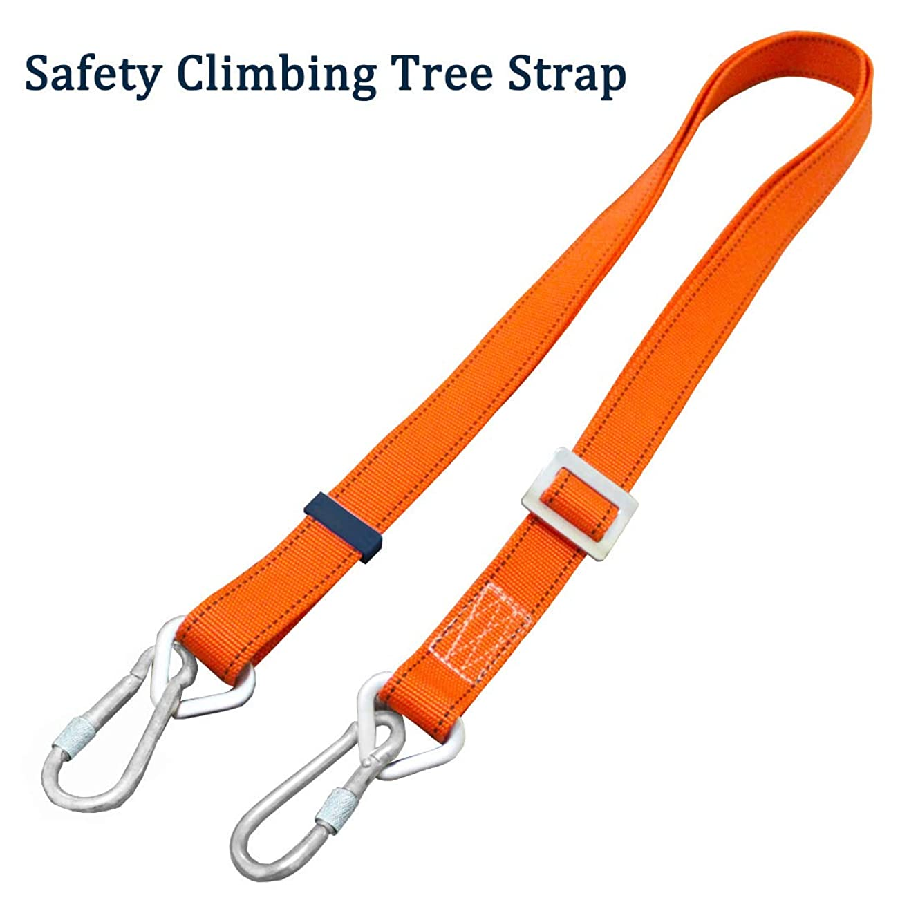 Boaton Safety Harness Tree Climbing Strap, Tree Climbing Gear, Linemans Belt, Add Level of Safety for Hanging Stand Or Step, Trimming Tree, Putting Up Deer Stand, Installing Steps, Ladder Or Climbing