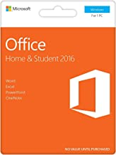 Office 2016 Home and Student | English | New | PC | Box | KeyCard