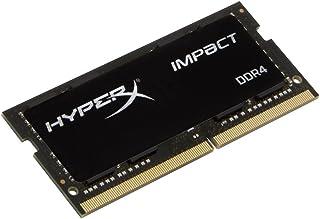 キングストン HX429S17IB/16 16GB DDR4 2933MHz HyperX Impact OC Non-ECC CL17 1.2V Unbuffered SODIMM PC4-23400