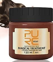 PURC Hair Treatment Mask 120ml, 2019 Magical Hair Mask 5 Seconds Repairs Damage Hair Root Hair Tonic Keratin Hair & Scalp Treatment