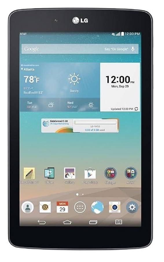 LG G PAD 7.0 V410 16GB AT&T 4G Tablet PC Black