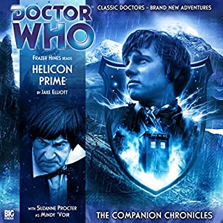 Couverture de Doctor Who - The Companion Chronicles - Helicon Prime