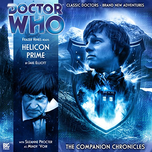 Doctor Who - The Companion Chronicles - Helicon Prime audiobook cover art