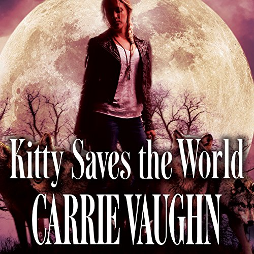 Kitty Saves the World audiobook cover art