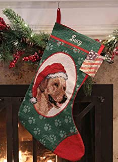 Personalized Yellow Labrador Christmas Stocking