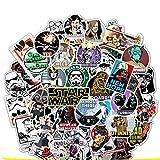 Zhongyanxin 50 Star Wars Doodle Pegatinas Superhéroe Skate Moto Carrito Estuche Pegatinas Cartoon Pegatinas Impermeable y Largo Vida Mostrar Tu Propio Estilo
