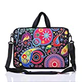 YIDA 10-Inch Laptop Shoulder Sleeve Case and Tablet Bag for Most 9.7' 10' 10.1' 10.2' Ipad/Notebook/eBook/Readers (Classic Colourful)