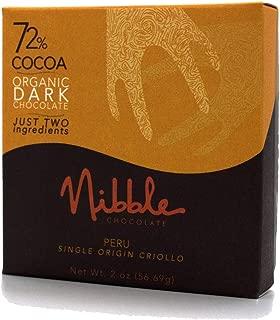 Nibble Chocolate Peru 72%   3 Pack  