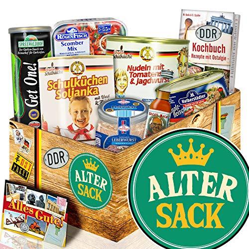 Alter Sack + Geburtstag Geschenk Alter Sack + DDR Geschenkset