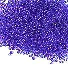 【ラインストーン77】たね ガラスの粒 色/サイズ選択可 レジン 硝子のかけら カレット 封入素材 (夜空の種 10g)