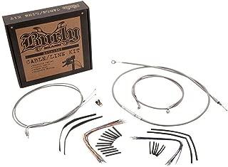 Burly Brand B30-1013 Cable/Brake Line Kit for Ape Hangers for Harley Davidson 2000-06 FL - 16
