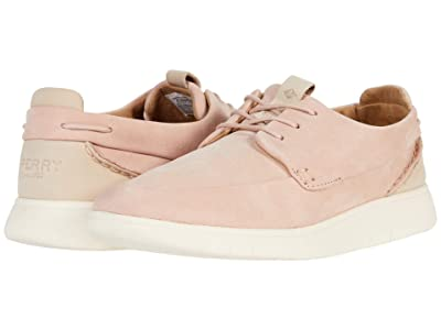 Sperry Coastal PlushWave Athleisure Boat Leather (Rose Dust) Women