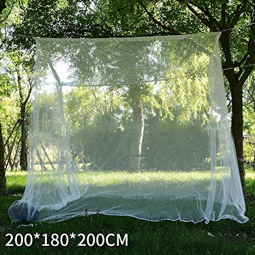 CAIDUD Moustiquaire Rectangle Parasol moustiquaire d'extérieur Tente de Camping en Plein air Respirant, Ultra-léger et Portable Activités en Plein air, Randonnée