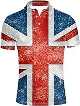 union jack polo shirt xxl