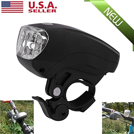 Bike Bicycle Bright 5LED Front Light Lamp with Mount Holder Bracket for Flashlight Linternas