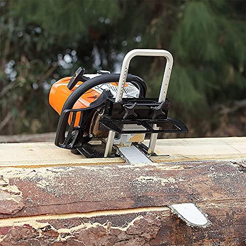 GRELWT Chainsaw Mill Portable Sawmill 12...