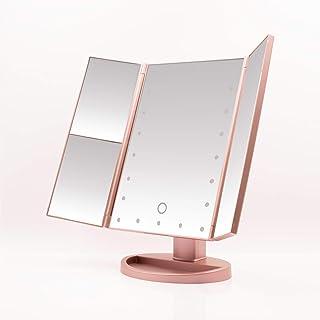 MyCasita Vanity mirror with lights | Makeup mirror with lights | 22 LED lighted makeup mirror