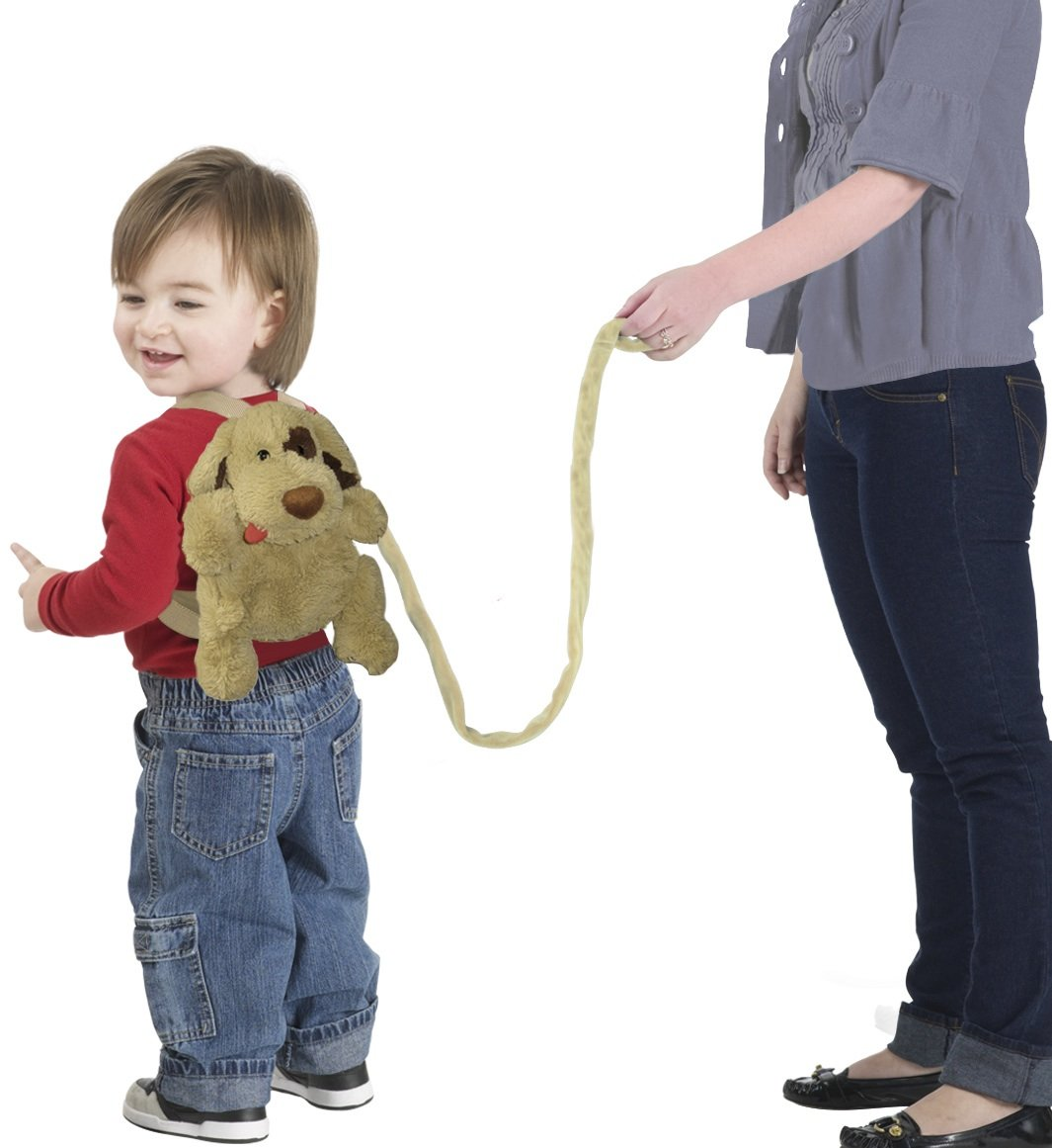 Jeep Baby Backpack with Safety Harness, Sheep