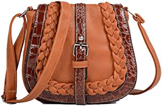 VogueZone009 Women's Pu Casual Bags Crossbody Bags,CCABO203376