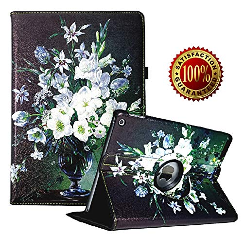 iPad Air (3rd Gen) 10.5' 2019 / iPad Pro 10.5' 2017 Case,360 Degree Rotating Stand Smart Case Protective Cover with Auto Wake Up/Sleep Feature Cover (Orchid)