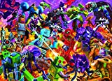 Rockem Sockem Mecha Robot Puzzle   Difficult 1000 Piece Jigsaw Puzzle for Adults and Kids   Challenging Interactive Brain Teaser for Game Night   28 x 20 Inches