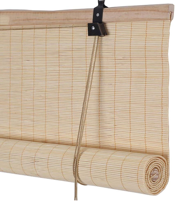Las persianas enrollables de la Cortina de la Ventana, Material de bambú de Ecology Original con el Gancho para Arriba, convenientes para Toda Clase de decoración de la Tienda Sala de recepción