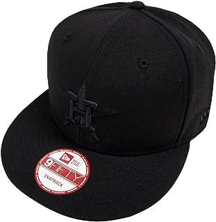 Black On Black Snapback Cap 9fifty