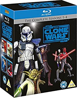 Star Wars: The Clone Wars - The Complete Seasons 1-4 [Blu-ray] [2012] [Region Free] (B005YYCLHW)   Amazon price tracker / tracking, Amazon price history charts, Amazon price watches, Amazon price drop alerts