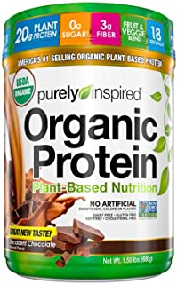 Vegan Protein Powder | Purely Inspired Organic Protein Powder | Plant Based Protein Powder for Women & Men | Brown Rice & ...