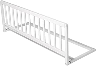 Safetots Extra Wide Wooden Bed Guard White ST-EWWBRW