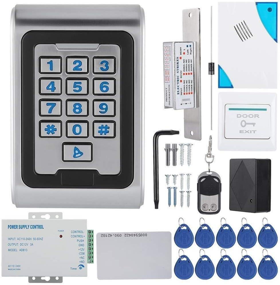 Jacksonville Mall LIMEI-ZEN Access Control System Kit Door Keypad mart Con RFID