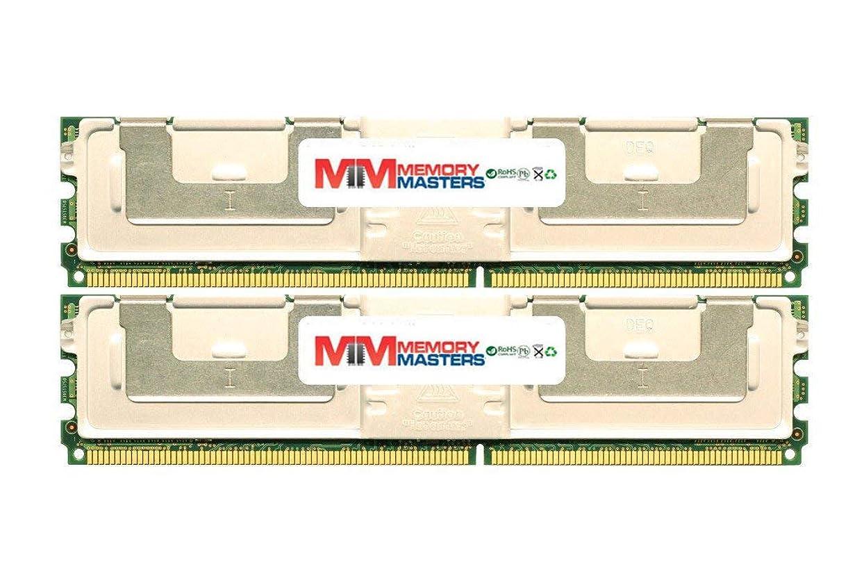 サロンしないでください不毛のMemoryMasters Dell 互換性 SNPM788DCK2/16G 16GB (2 x 8GB) PC2-5300 ECC フルバッファ FBDIMM メモリ DELL PowerEdge 1950 III用