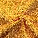 Tejido rizo toalla colores (Mostaza)