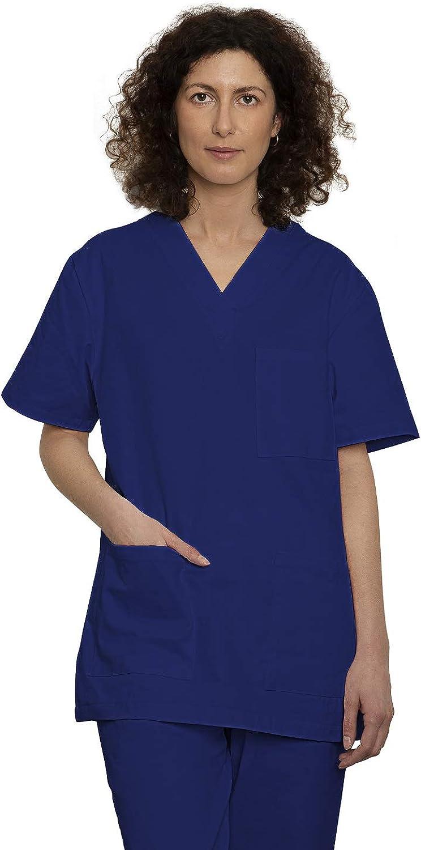 Uniforme Sanitario Pijama Conjunto Casaca Y Pantalón Unisex Hombre Y Mujer | Uniforme Hospitalario 100% Algodón Sanforizado | para Medico, Enfermeros, ...
