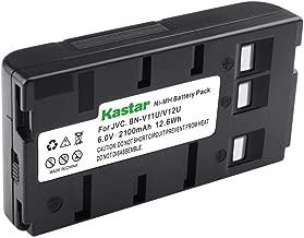 Kastar Battery Replacement for JVC BN-V11U BN-V12U, BN-V14U, BN-V15, BN-V18U, BN-V20, BN-V20U, BN-V20US, BN-V22, BN-V22U, BN-V24U, BN-V25, BN-V25U, BN-V65 VHS-C and BN-V400 BN-V400B BN-V400U