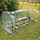 Light green 7'x3'x3' Greenhouse Mini Portable Gardening Flower Plants Yard Hot House...