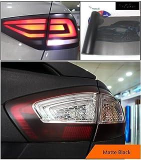 new 30 * 180cm Matt Light Film Car Matte Black Tint Headlight Taillight Fog Light Vinyl Film Rear Lamp Tinting Film (Color...