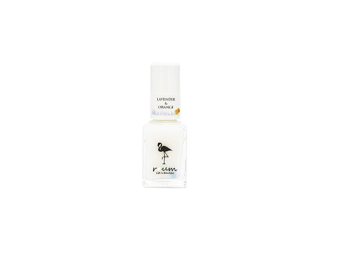 セブンめ言葉法令raum WATER CARE-NAIL WN-0026 ベース&トップコート ラベンダー&オレンジの香り(精油入り)