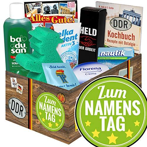 Zum Namenstag / DDR Pflegebox / Geschenk Ideen zum Namenstag