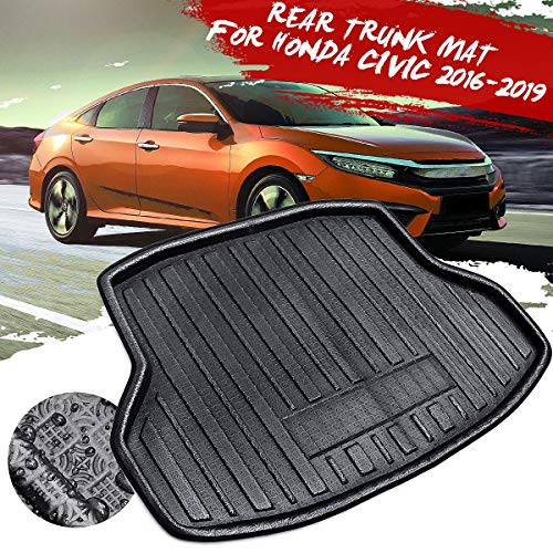 XIANGSHAN for Honda for Civic 2016 2017 2018 2019 New Rear Trunk Cargo Car styling Interior Accessories Boot Liner Waterproof Mat