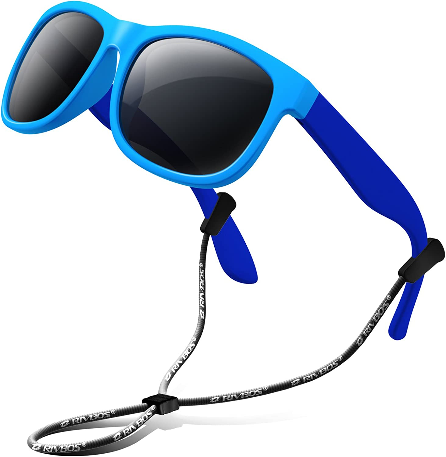 RIVBOS Kids Sunglasses Manufacturer direct delivery with Phoenix Mall Strap Polarized UV Flexib Protection