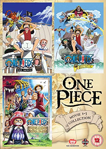 One Piece Movie Collection 1 (Contains Films 1-3) [Reino Unido] [DVD]