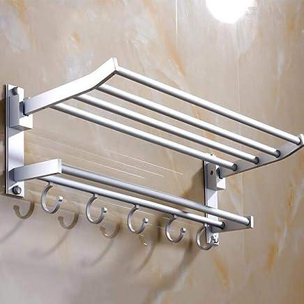 Folding Handtuchhalter Metall Heizk/örper Handtuch Bad Rack-Halter-Badezimmer-Hardware Mehrzweck Waschlappen Hanger