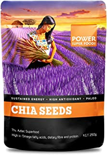 Power Super Foods Raw Chia Seeds 250 g